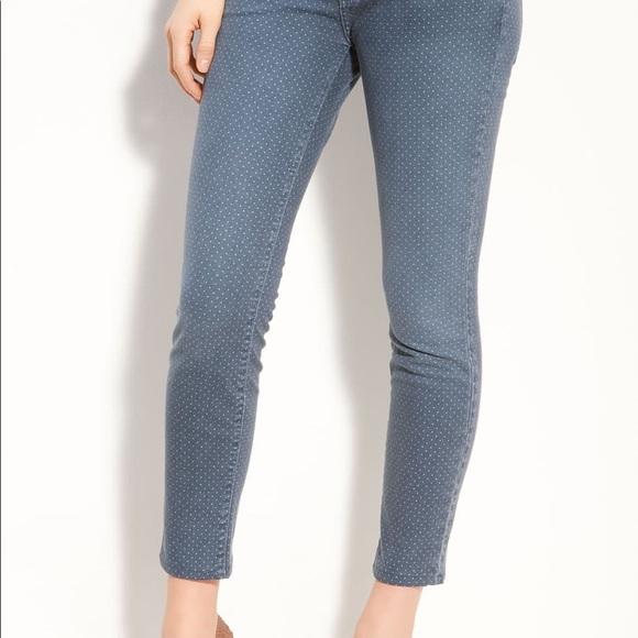 Current/Elliott Denim - Current Elliott stiletto ankle dots jeans SZ 29